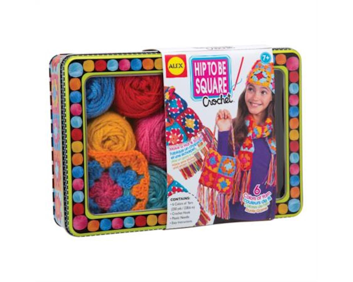 Alex Toys  Hip To Be Square Crochet