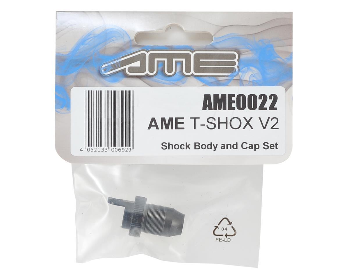 T-SHOX V2 Shock Body & Cap Set by Team AME
