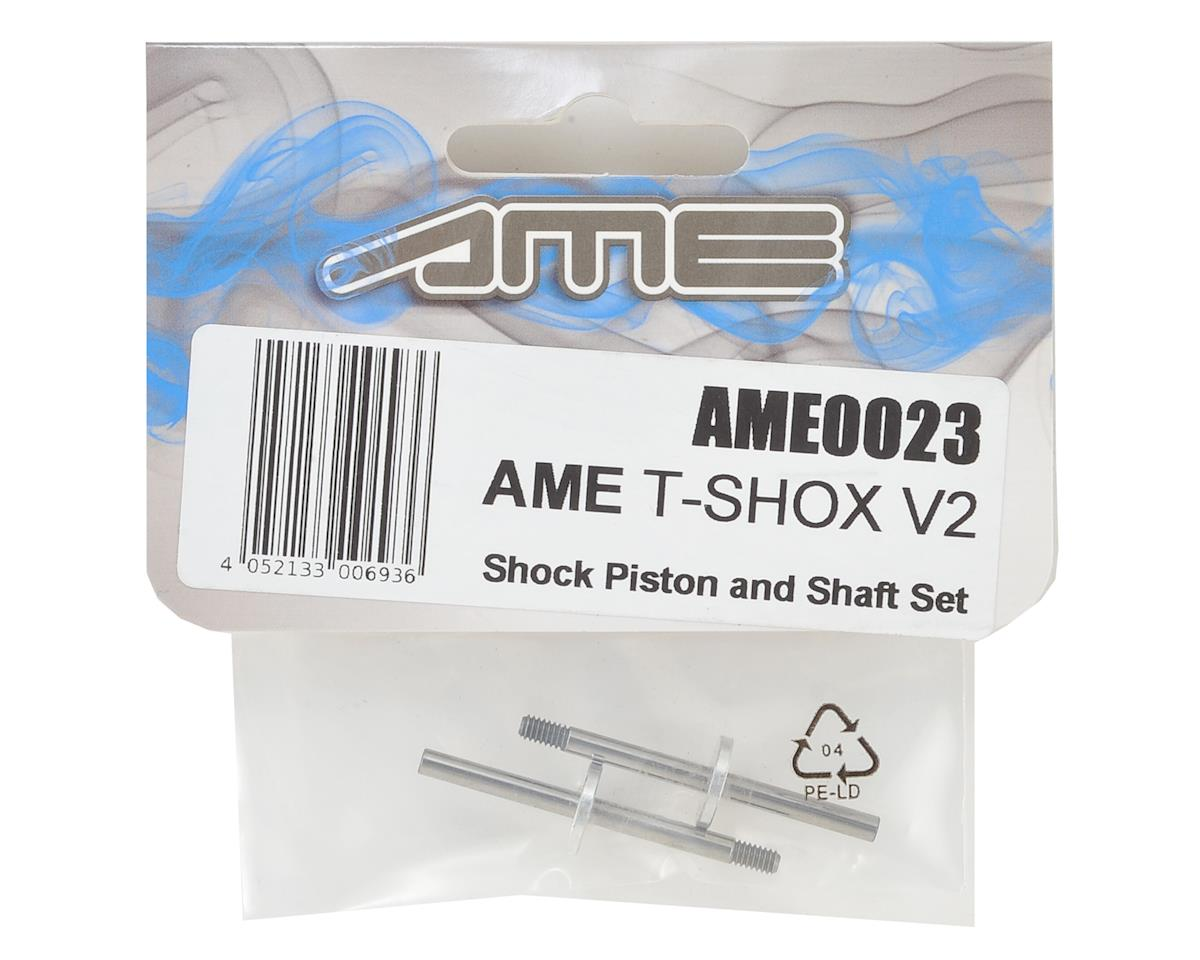 Team AME T-SHOX V2 Shock Piston & Shaft Set