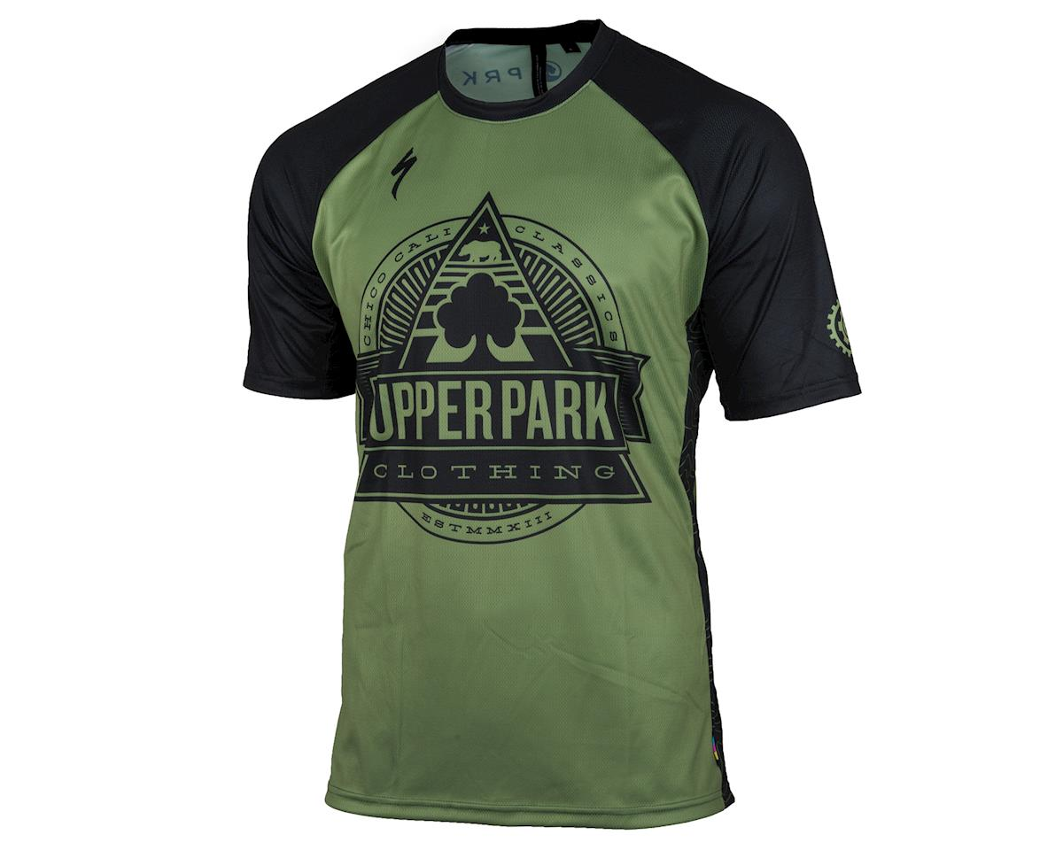AMain Upper Park Specialized Enduro Sport Short Sleeve Jersey (Bear Republic) (S)