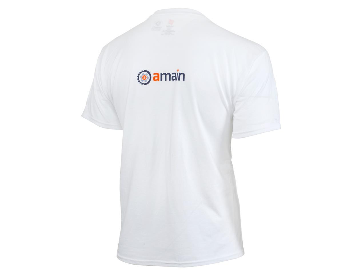 AMain Short Sleeve T-Shirt (White) (XL)