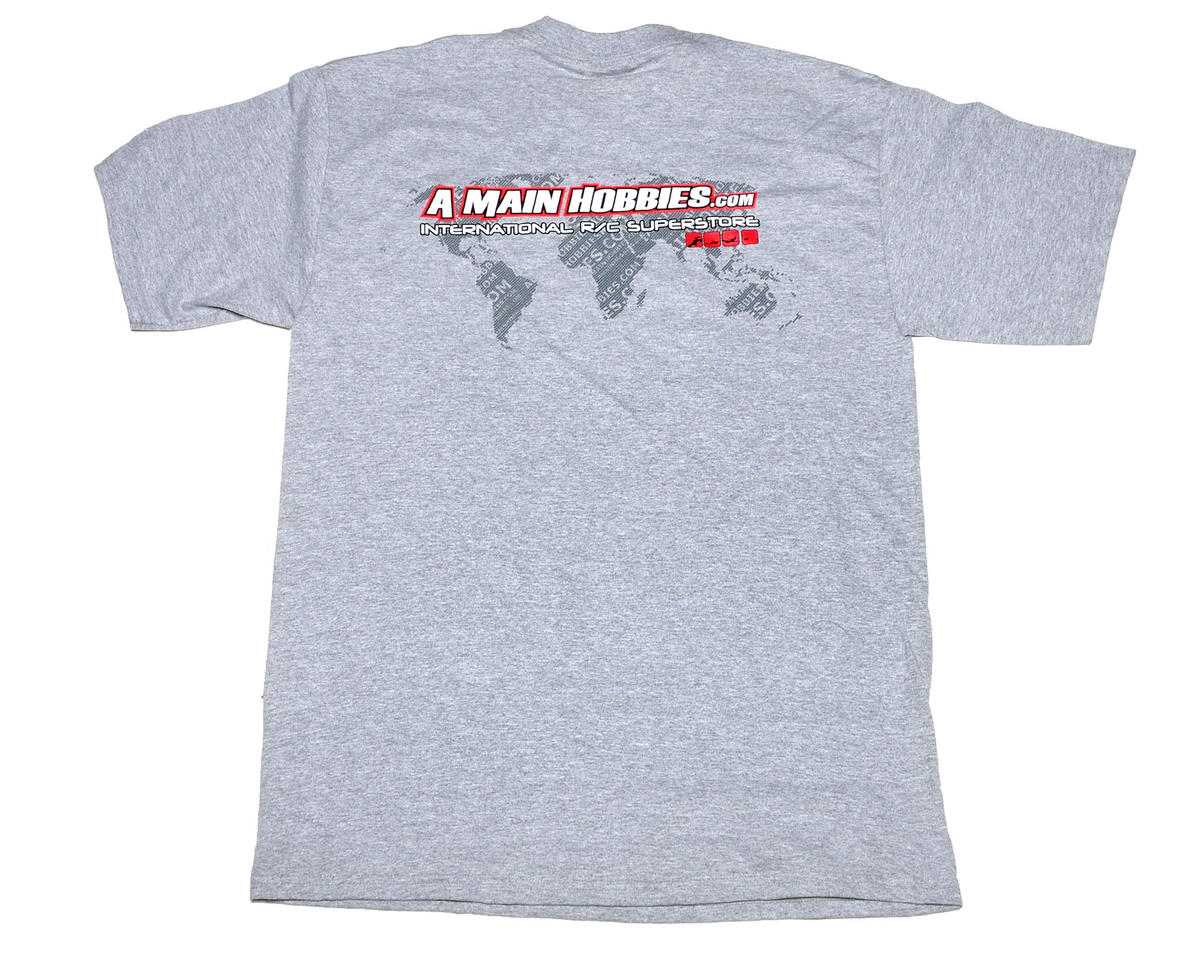 "AMain Gray ""International"" T-Shirt (4X-Large)"