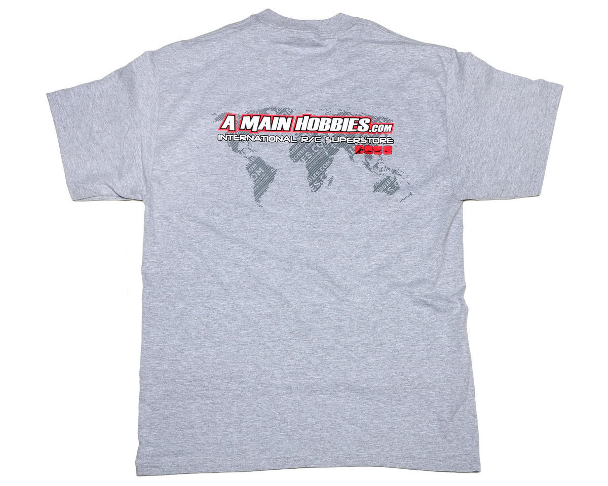 "AMain Gray ""International"" T-Shirt (Large)"