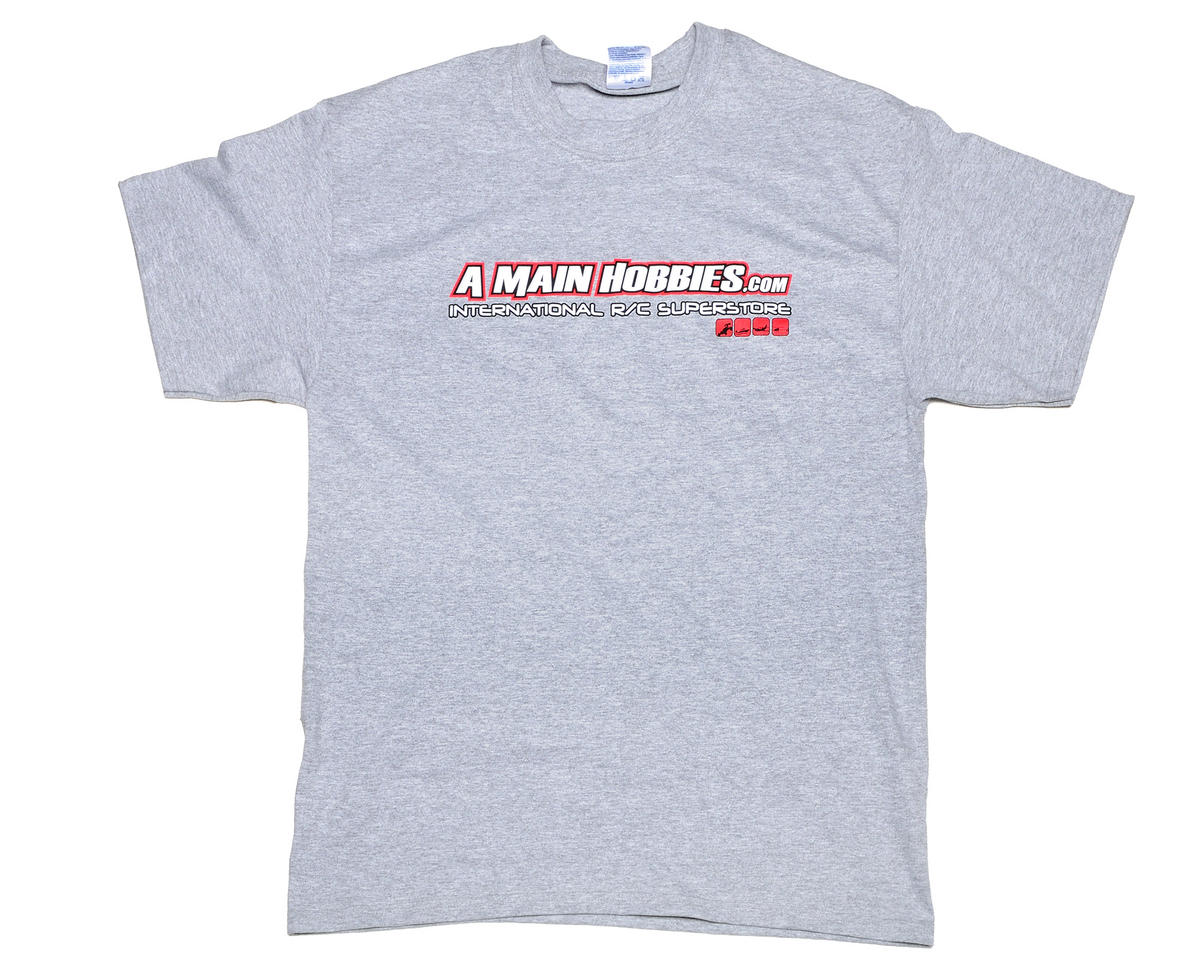 "AMain Gray ""International"" T-Shirt (Medium)"