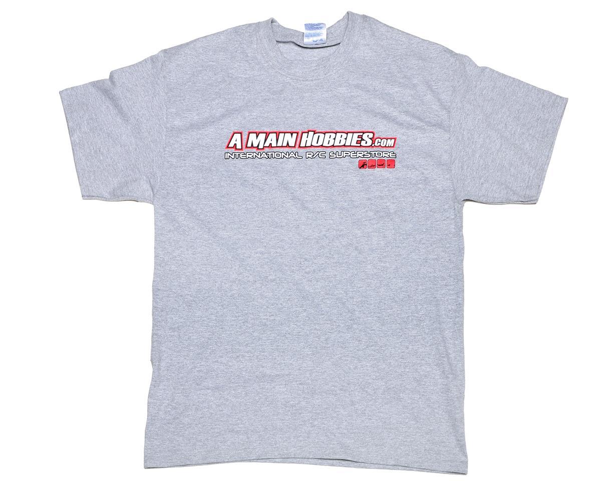 "AMain Gray ""International"" T-Shirt (Medium)"