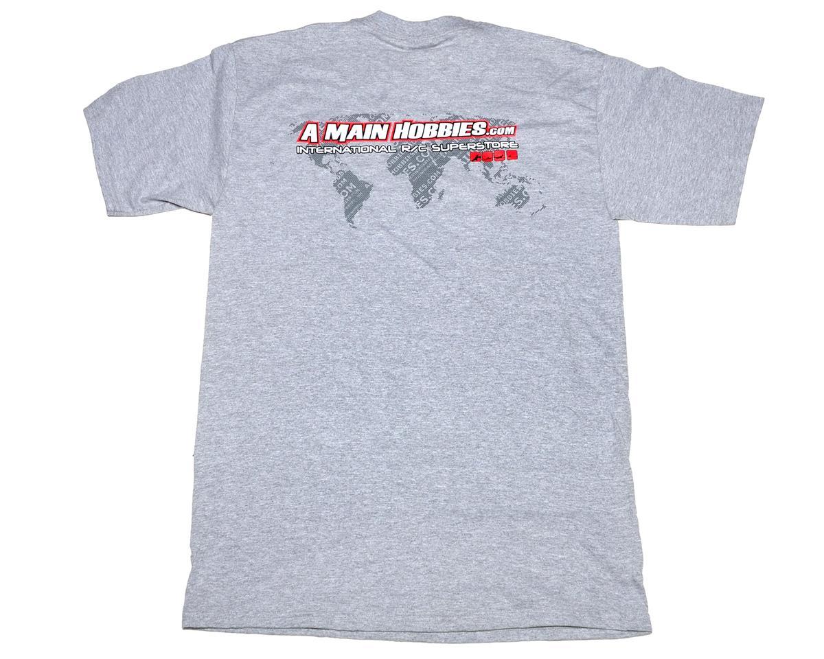 "AMain Gray ""International"" T-Shirt (3X-Large - Tall)"