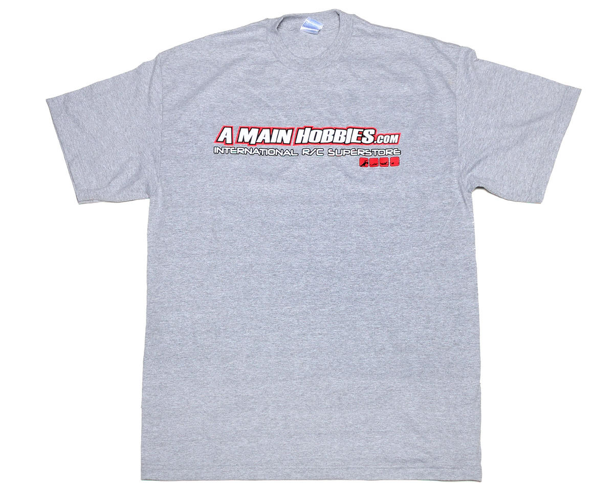 "AMain Gray ""International"" T-Shirt (4X-Large - Tall)"
