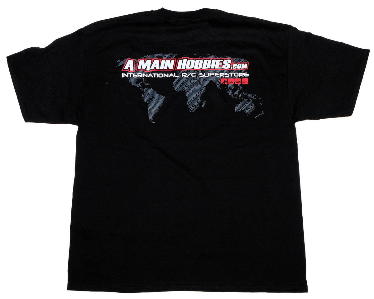 "AMain Black ""International"" T-Shirt (2X-Large)"