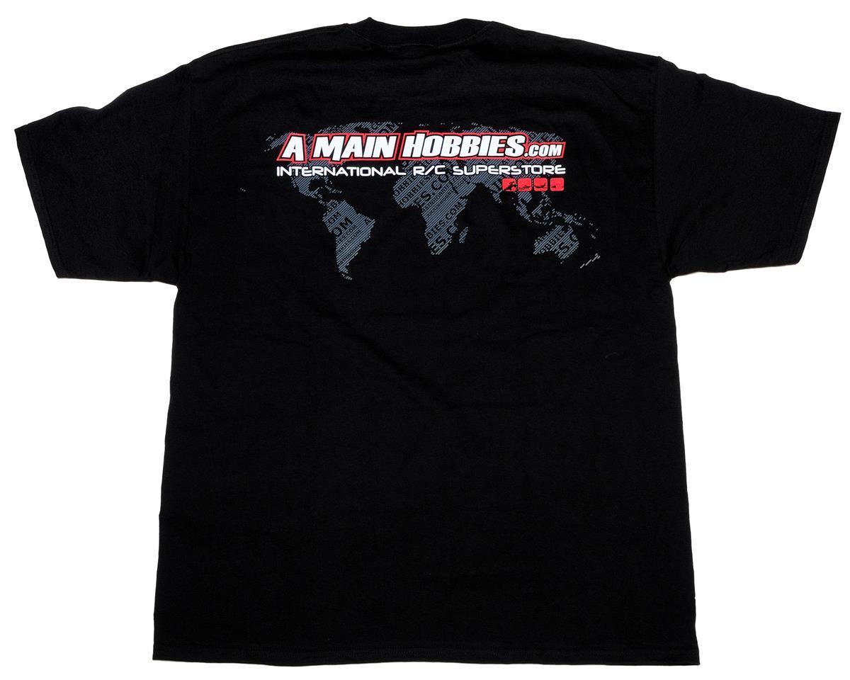 "AMain Black ""International"" T-Shirt (3X-Large)"