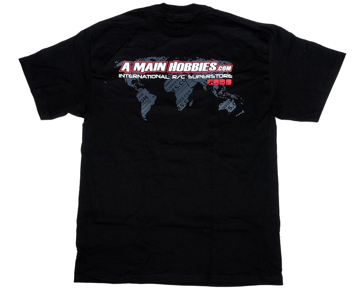 "AMain Black ""International"" T-Shirt (4X-Large - Tall)"