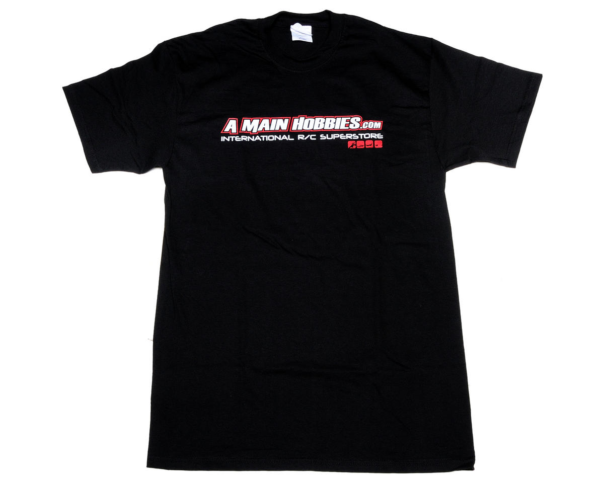 "AMain Black ""International"" T-Shirt (Large - Tall)"
