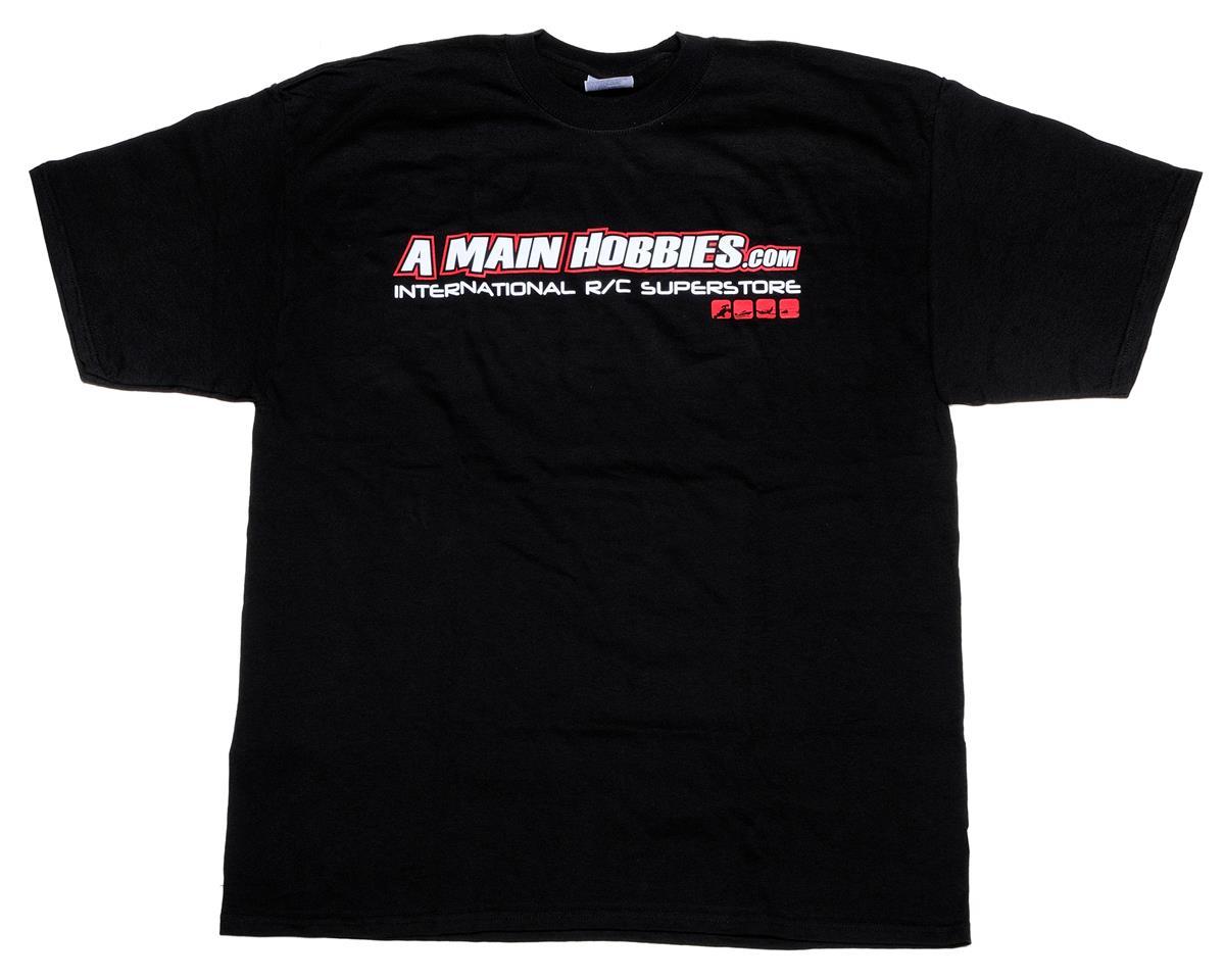"AMain Black ""International"" T-Shirt (X-Large)"