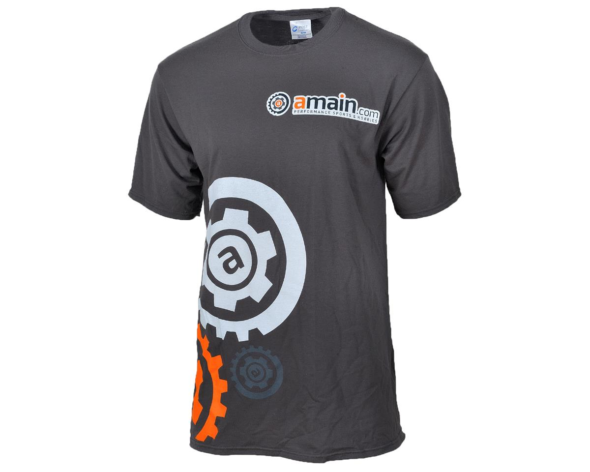 "AMain ""Gears"" T-Shirt (Charcoal) (L-Tall)"