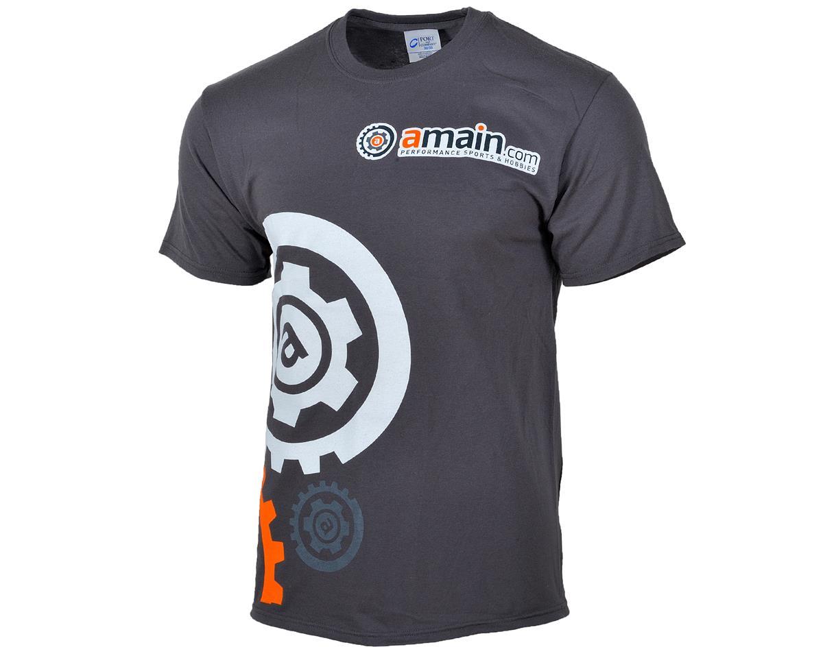 """AMain """"Gears"""" T-Shirt (Charcoal)"""