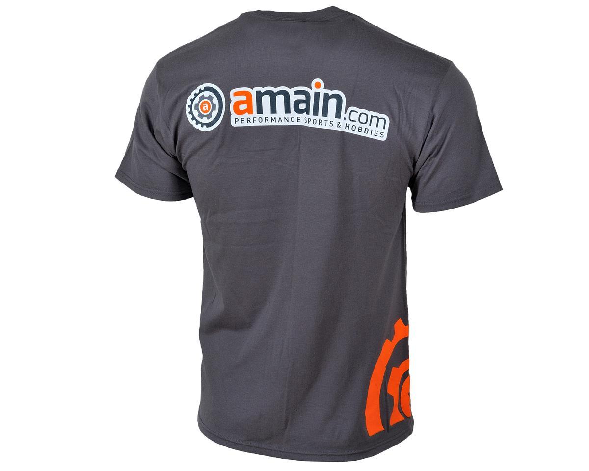 """AMain """"Gears"""" T-Shirt (Charcoal) (S)"""