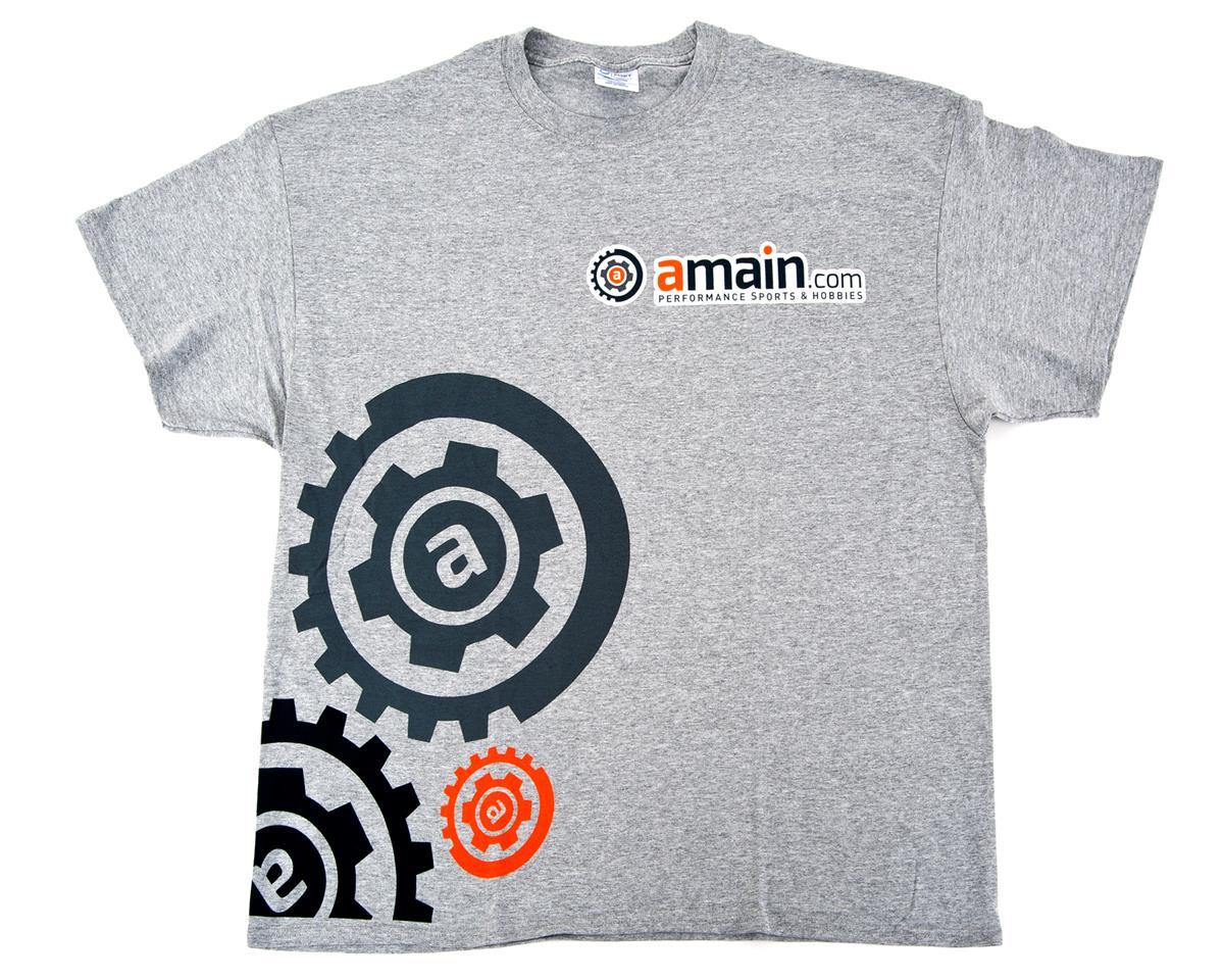 "AMain ""Gears"" T-Shirt (Gray) (2XL)"