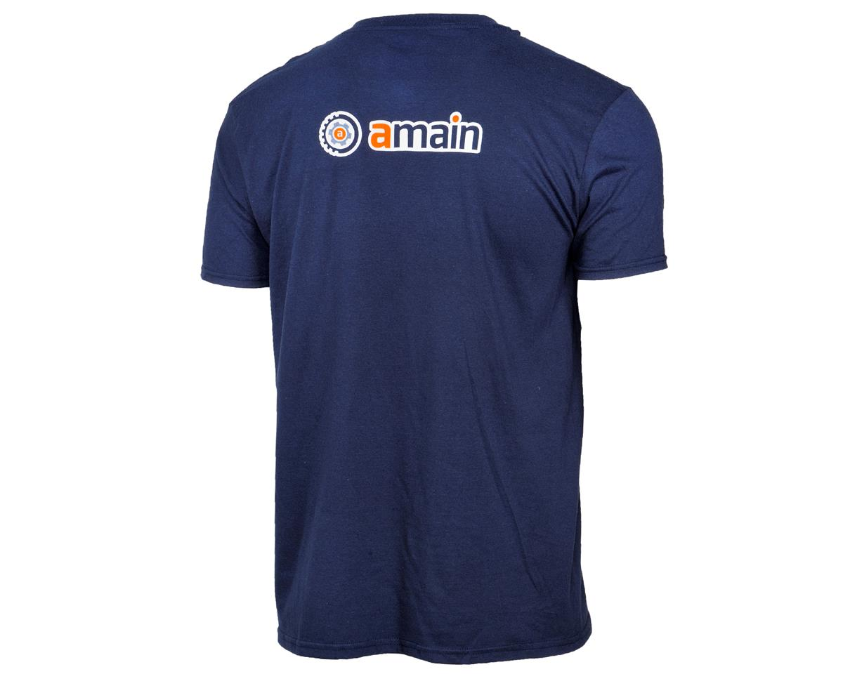 AMain Short Sleeve T-Shirt (Navy) (M)
