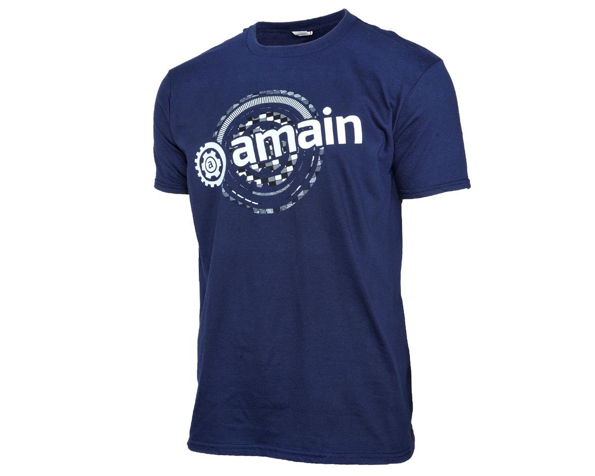 AMain Short Sleeve T-Shirt (Navy) (XL)