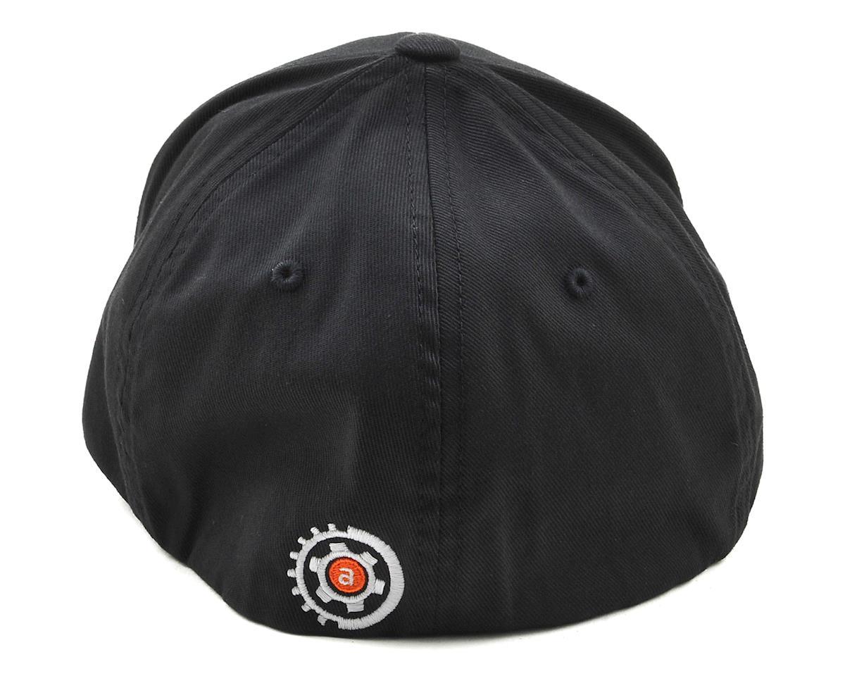 Image 2 for AMain FlexFit Hat w/Gears Logo (Black) (S/M)