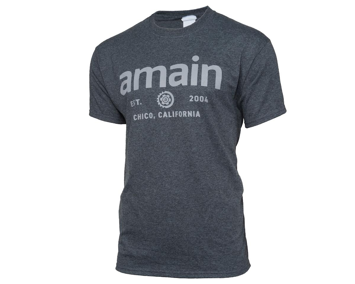 AMain Short Sleeve T-Shirt (Dark Heather) (4XL)