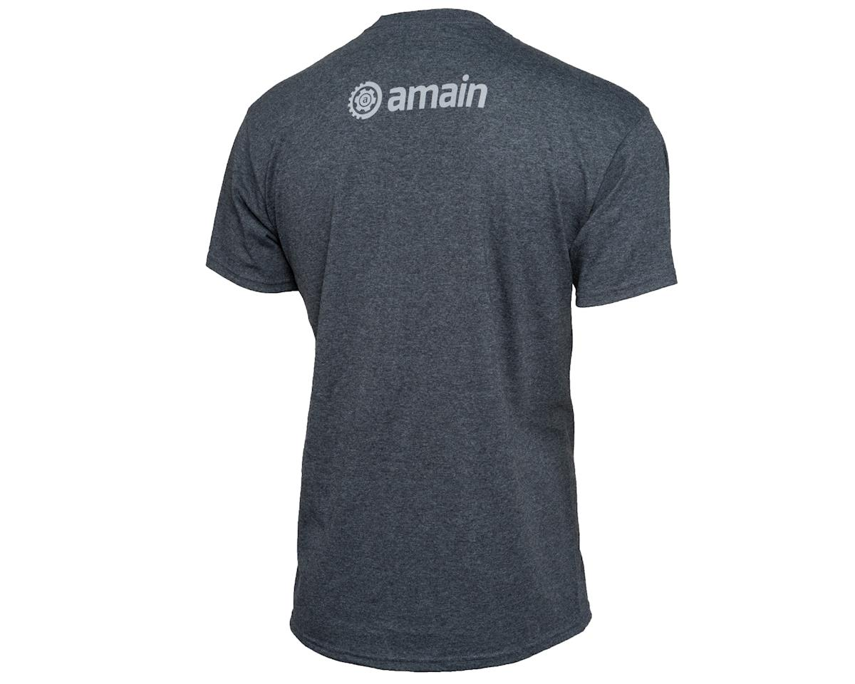 AMain Short Sleeve T-Shirt (Dark Heather) (XL)