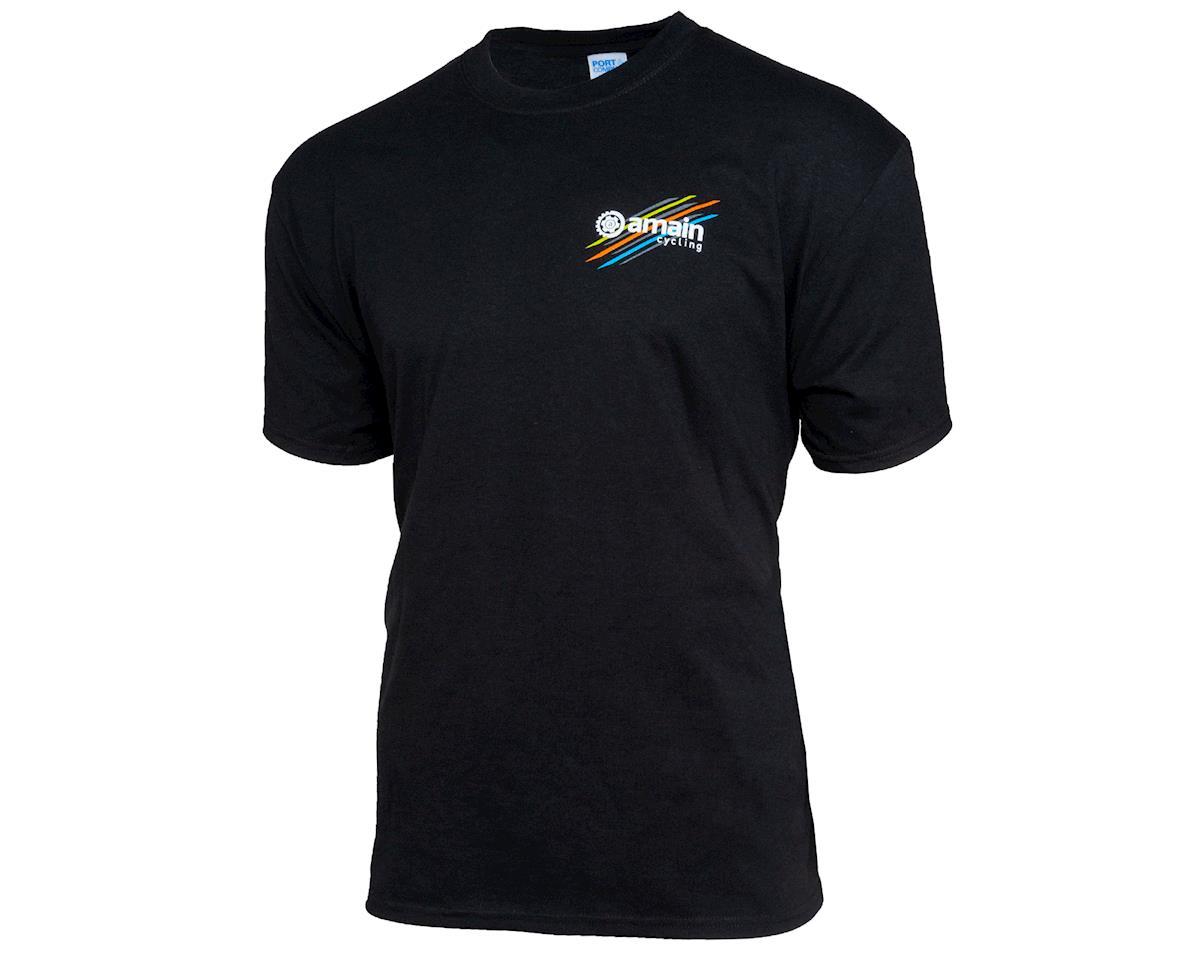 AMain Cycling Short Sleeve T-Shirt (Jet Black) (XL)