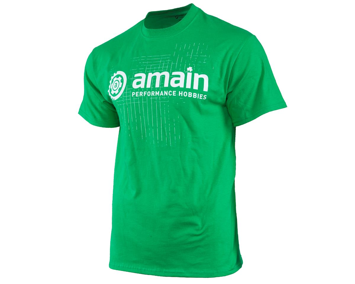 AMain Limited Edition St. Patty's Day T-Shirt (Green) (3XL)