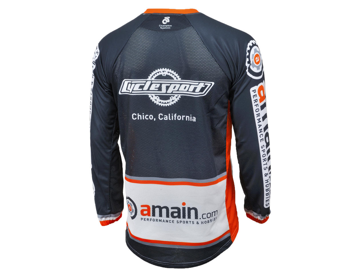 AMain Men's BMX/Downhill Jersey (Long Sleeve) (XS)
