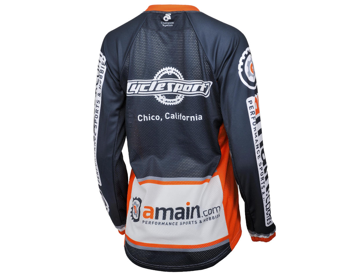 AMain Women's BMX/Downhill Jersey (Long Sleeve) (XL)