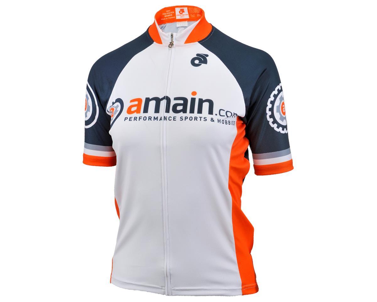 AMain Women's Tech Short Sleeve Cycling Jersey (Race Cut) (XS)