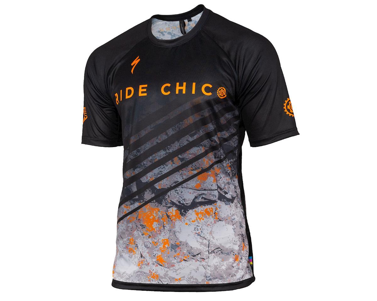 AMain Upper Park Specialized Enduro Sport Short Sleeve Jersey (Basalt) (S)