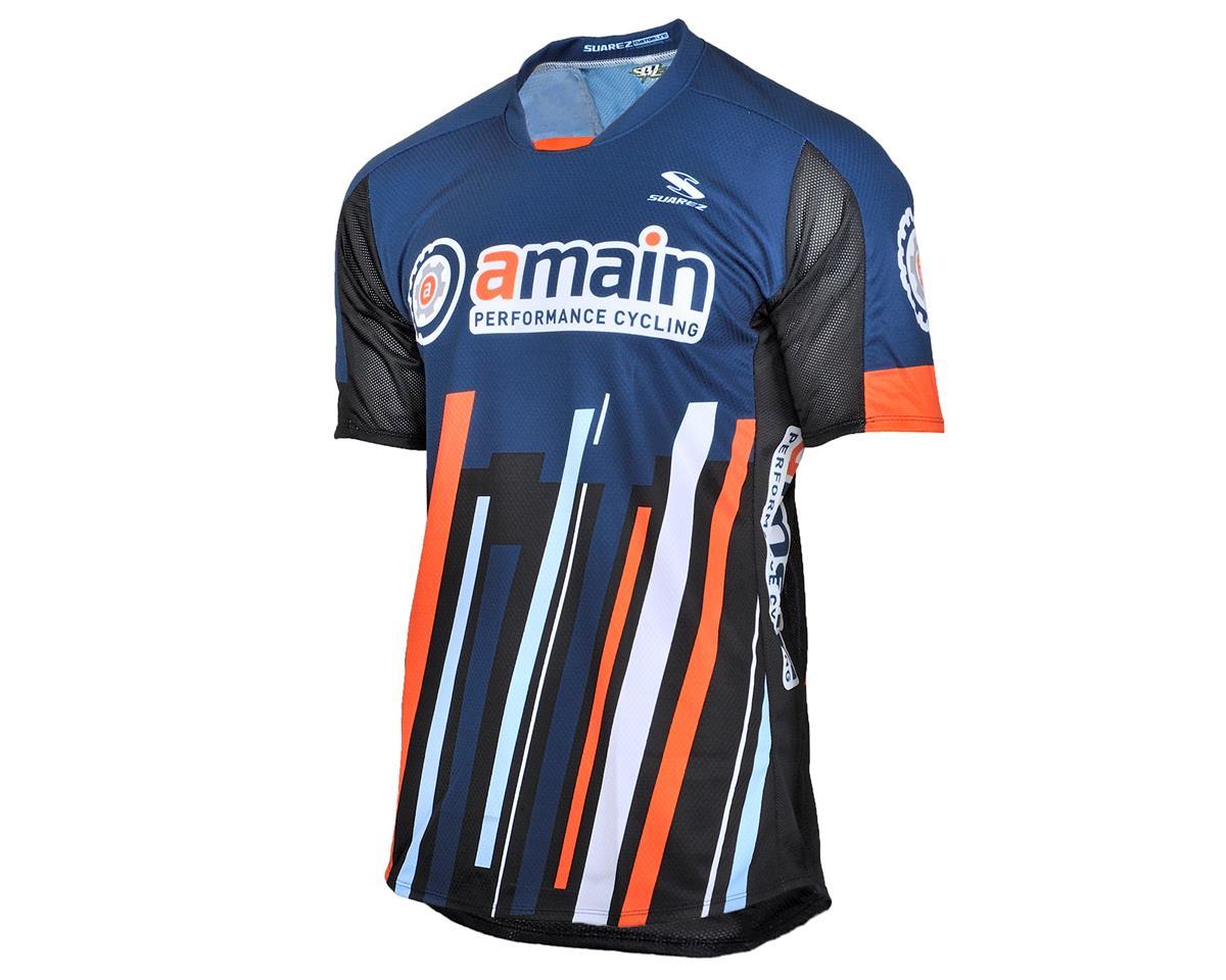 AMain Men's Short Sleeve MTB Jersey