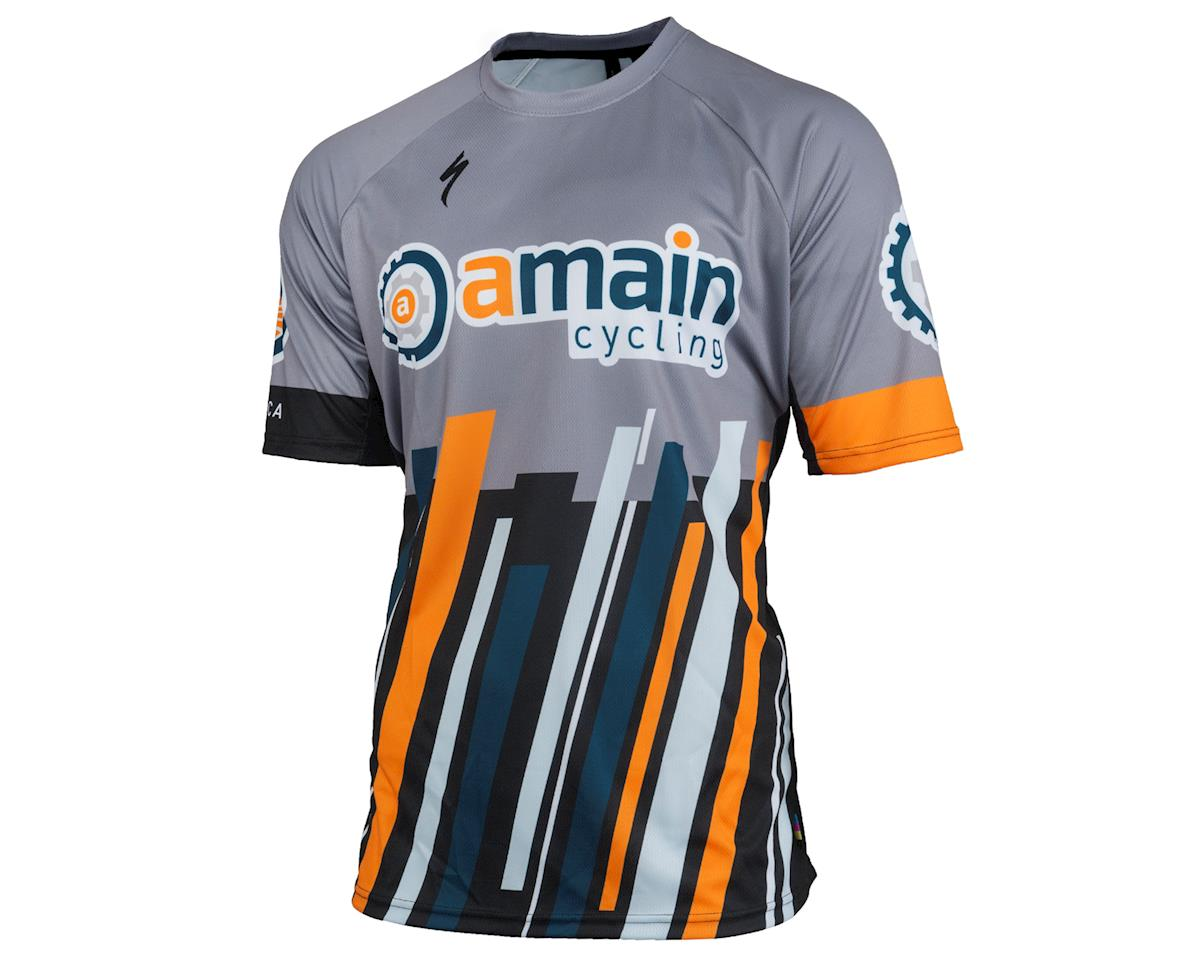 AMain Cycling Specialized Enduro Sport MTB Short Sleeve Jersey