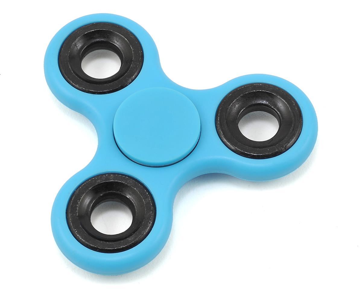 FidgeTek Fidgit Spinner (Plastic) (Blue)