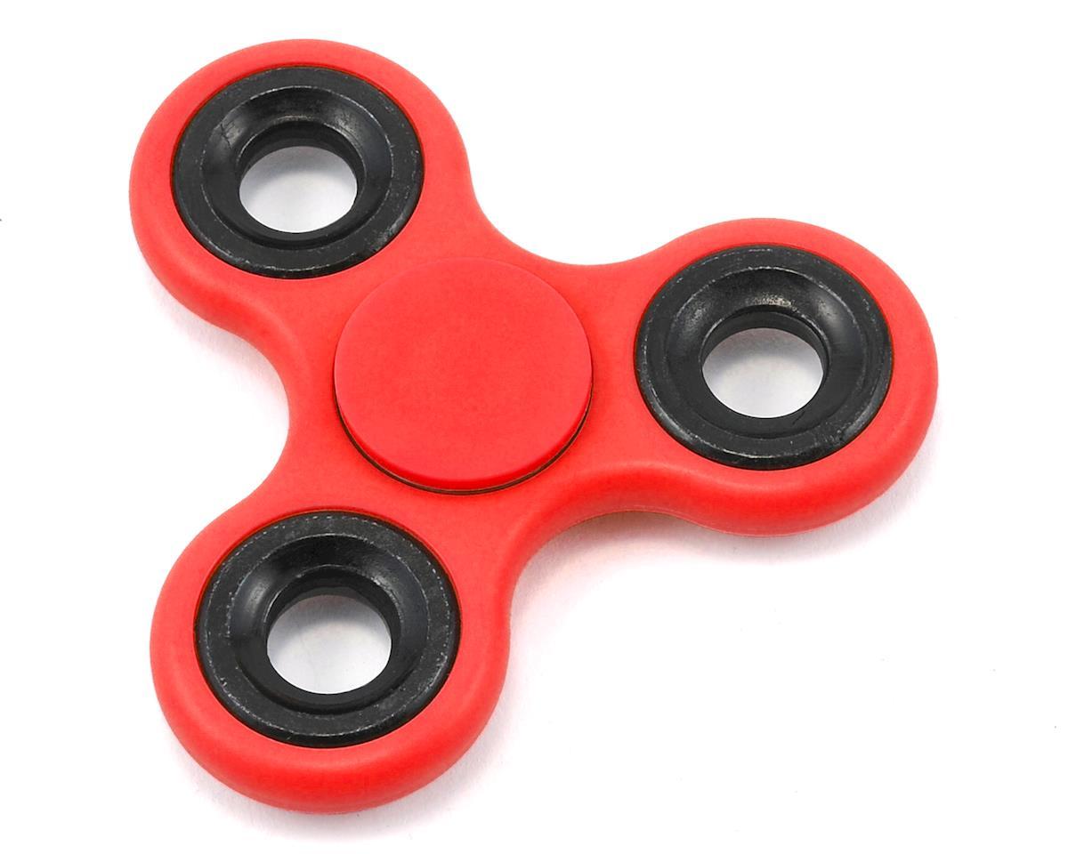 FidgeTek Fidgit Spinner (Plastic) (Red)