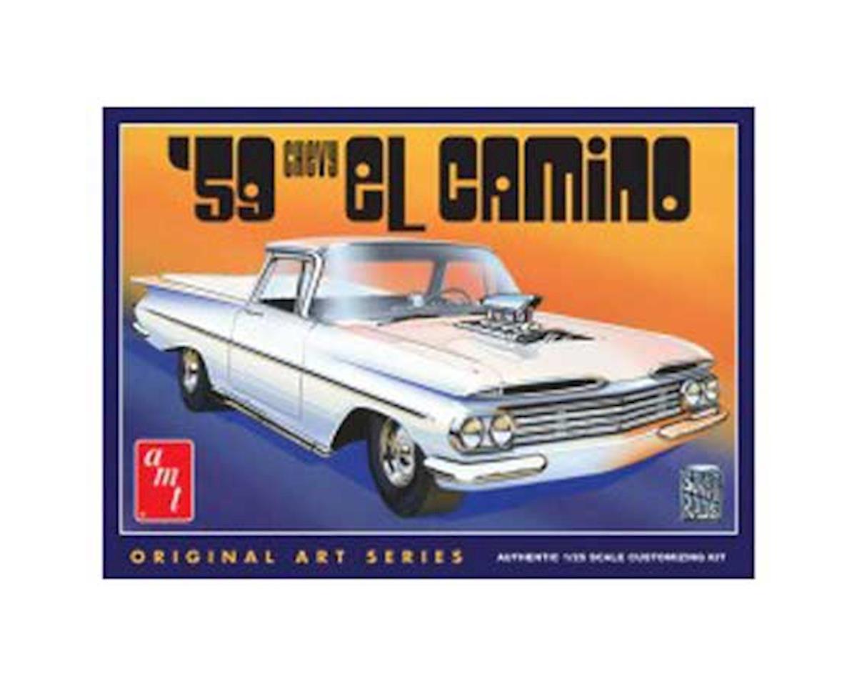 AMT AMT1058/12 1/25 1959 Chevy El Camino Original Art Serie