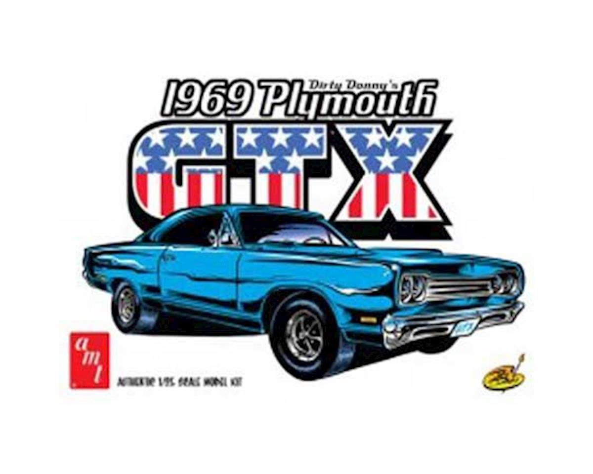 1/25 1969 Plymouth GTX, Dirty Donny by AMT