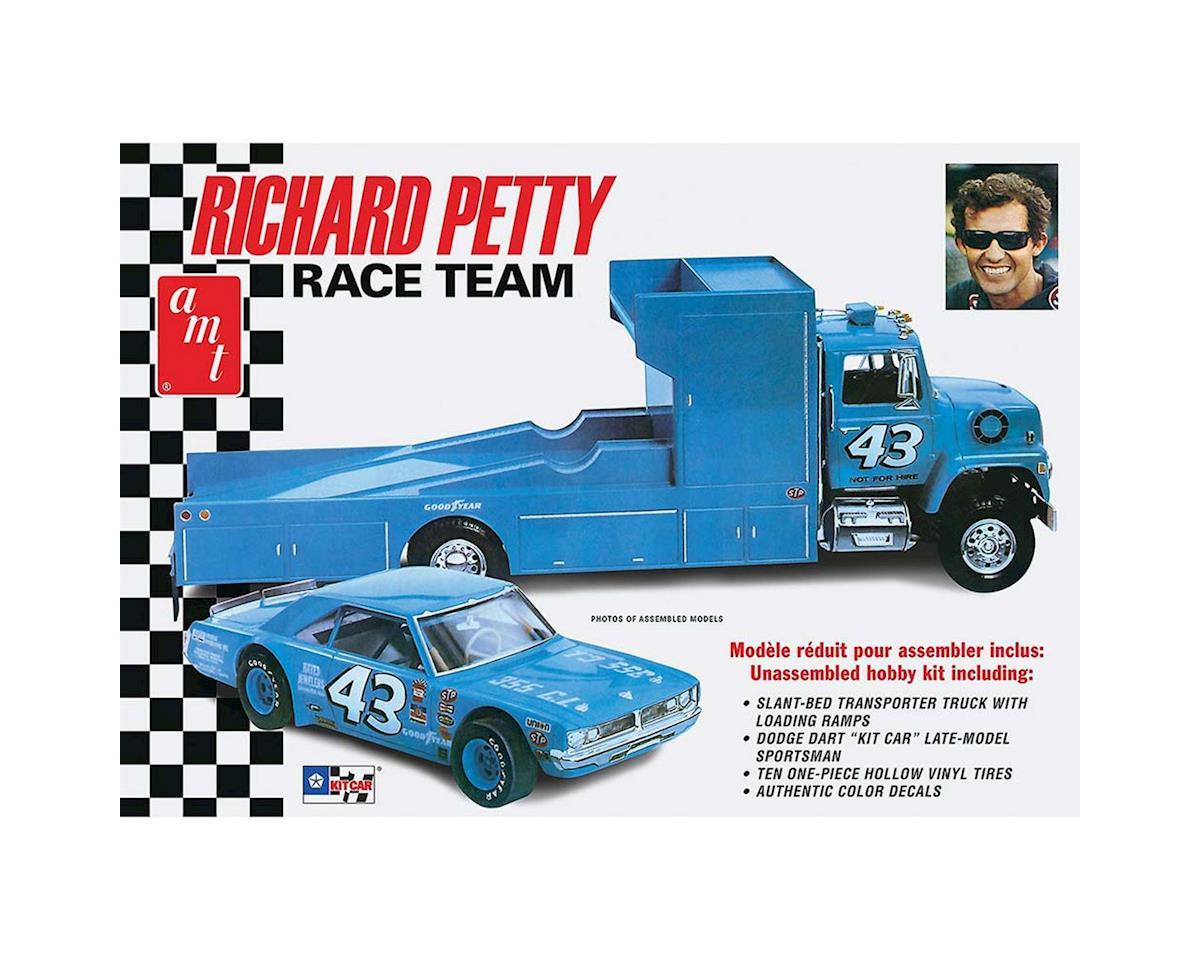 1/25 Dodge Dart Sportsman & LN800 Hauler, R. Petty by AMT