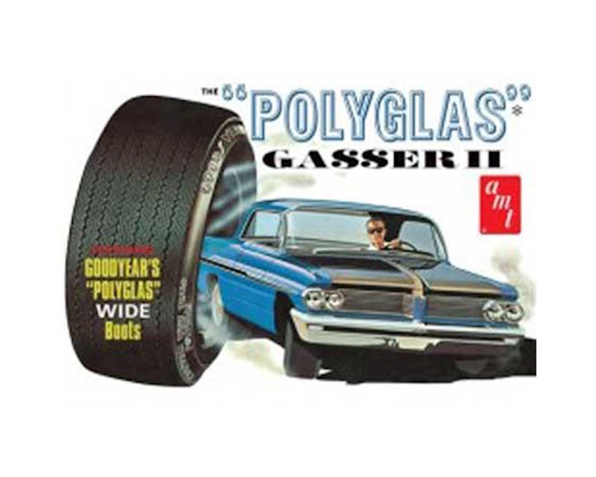 1/25 1962 Pontiac Catilina Polyglas Gasser II by AMT