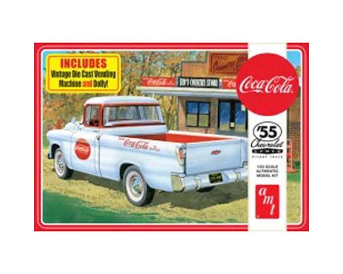 1/25 1955 Chevy Cameo Pickup, Coca-Cola by AMT