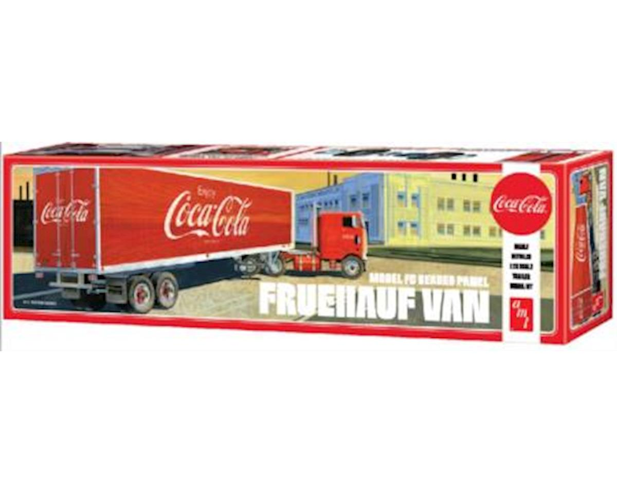 1 25 Fruehauf Beaded Van Semi Trailer Coca-Cola