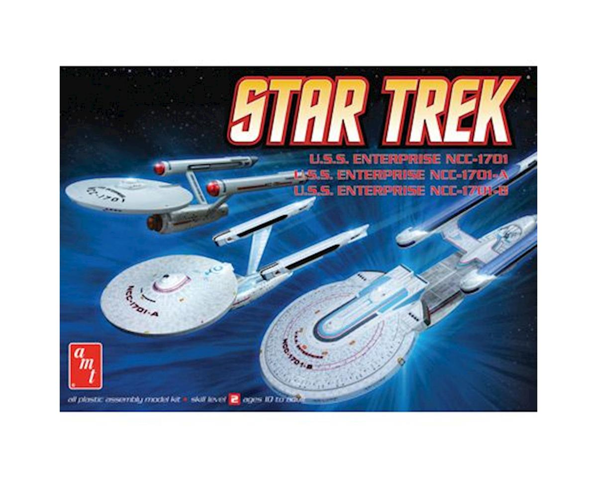 1/2500 Star Trek Enterprise Set (3N1) by AMT