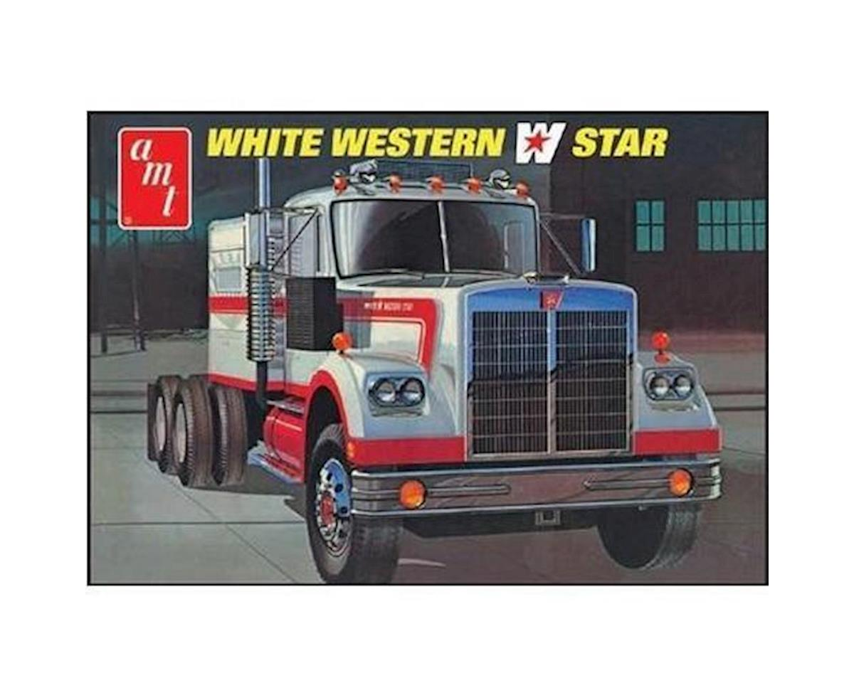 1/25 Western Star Semi Tractor, White by AMT