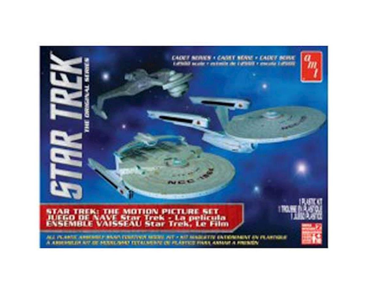 1/2500 Star Trek Cadet Series, 3 Ship Set by AMT