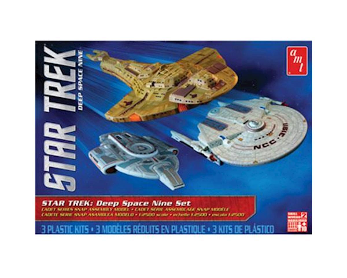 1/2500 Star Trek Cadet Deep Space 9 - 3 Ship Set by AMT