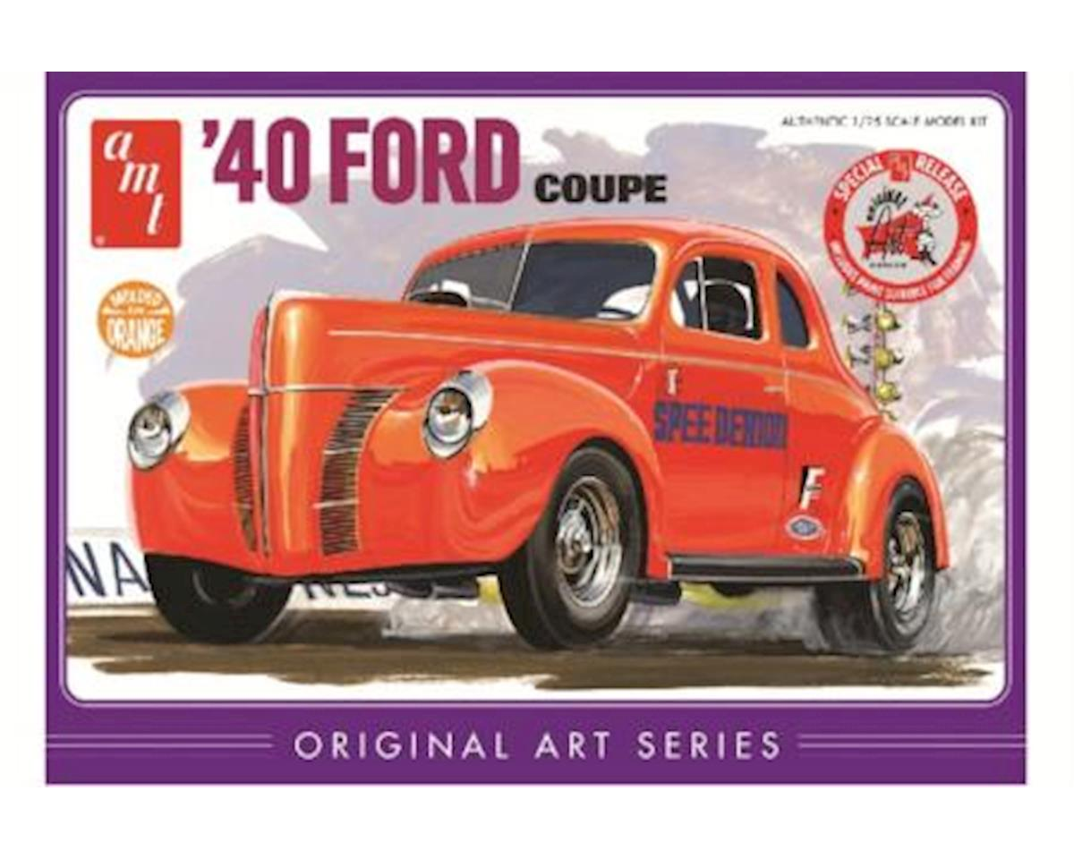 AMT 1:25 '40 FORD COUPE ART
