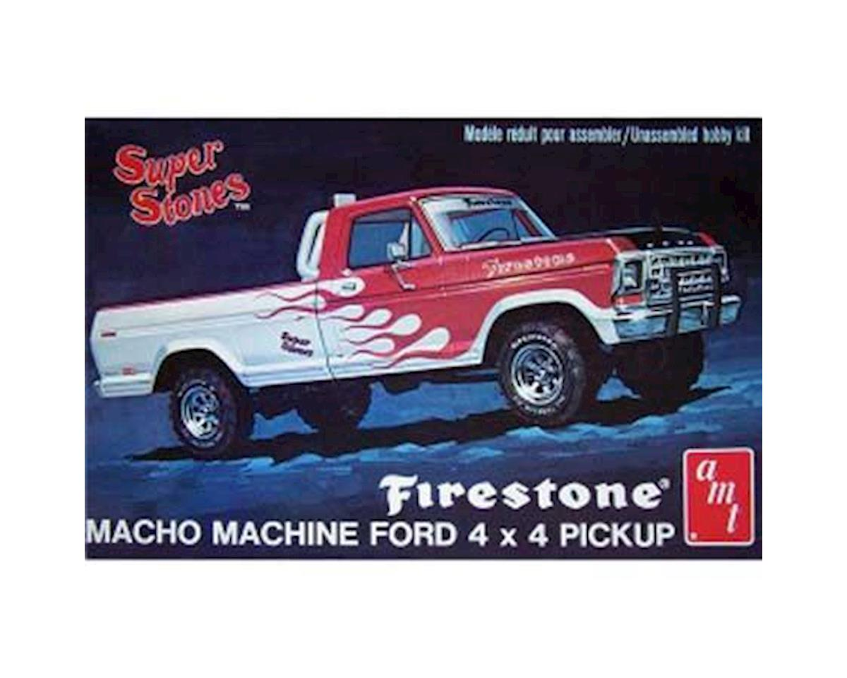 1:25 '78 FORD PU FIRE S S by AMT