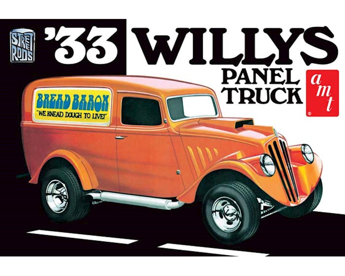 AMT Amt  1/25 1933 Willys Panel Van