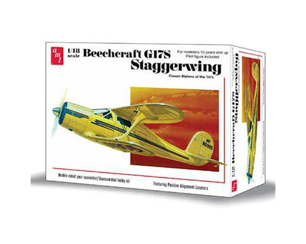 1/48,  Beechcraft G17S Staggerwing by AMT