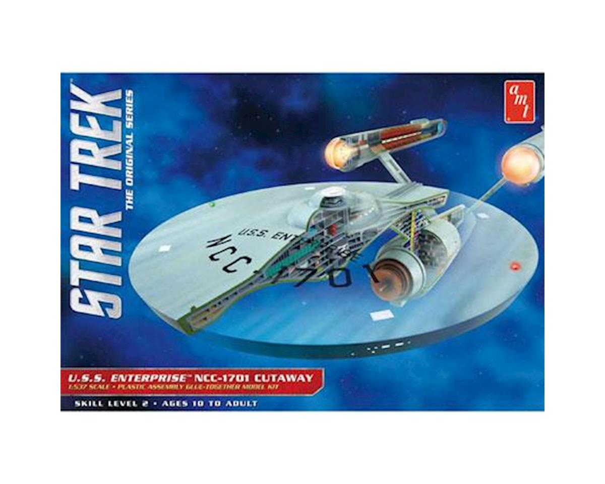1/537 Star Trek TOS Enterprise Cutaway by AMT